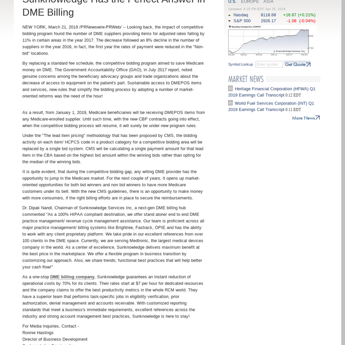 Dme Billing For Dummies