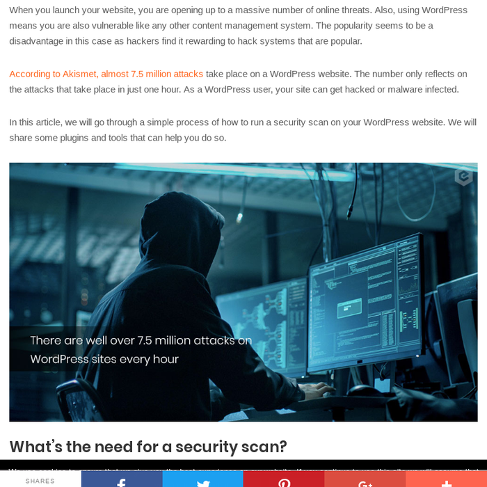 Mix · WordPress Security - Scan Your Website for Malware and
