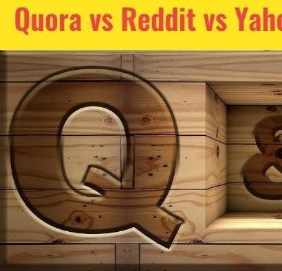 Mix · Quora vs Reddit vs Yahoo Answers vs Facebook for Online