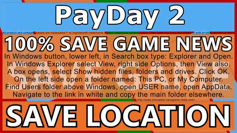 payday 2 save file location
