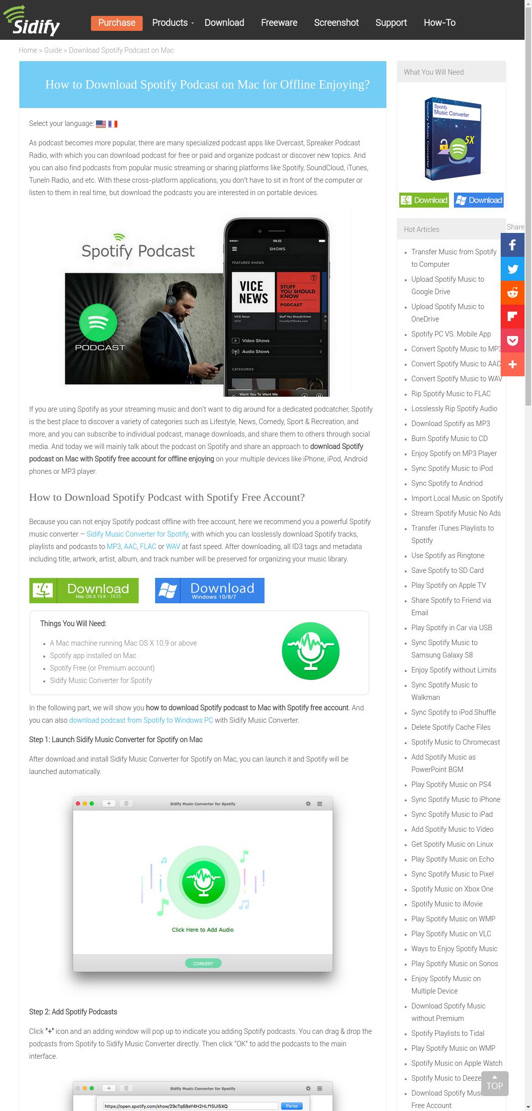 telecharger spotify pour mac os