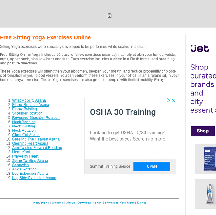 Mix · Free Office Yoga Exercises Online from SoundTells - Software