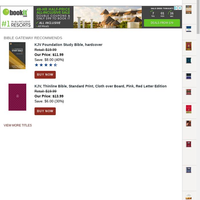 Mix · Search Domain · www biblegateway com