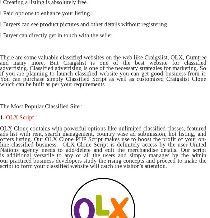 Mix · Classified Advertising Platform - Craigslist Clone