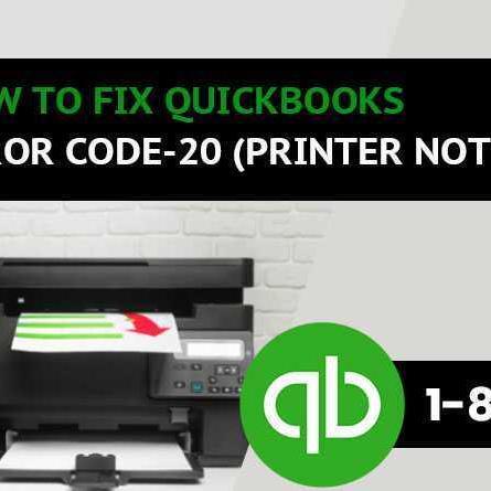 Mix · How to fix QuickBooks Error code 20 - Printer Not