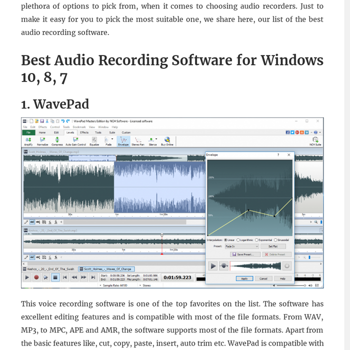 Mix · 10 Best Audio Recording Software For PC 2019