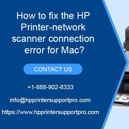 Mix · HP Printer-network scanner connection error for Mac?