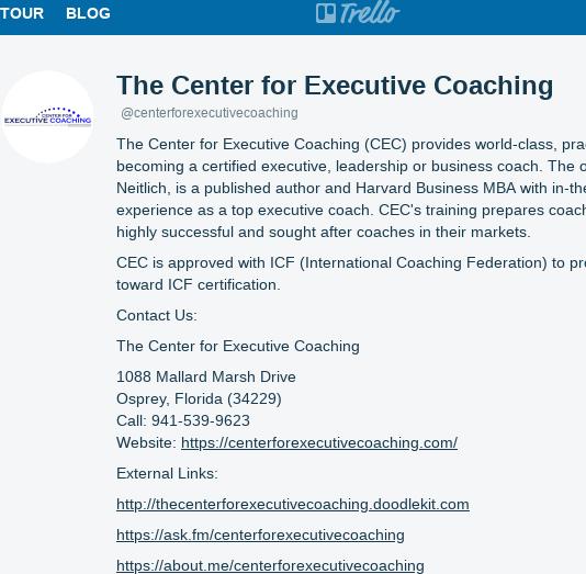 Mix · The Center for Executive Coaching (centerforexecutivecoaching)
