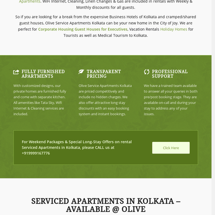 Best Service Apartments In Kolkata With Kitchen At Salt Lake City Centre New Town Park Street For Rent
