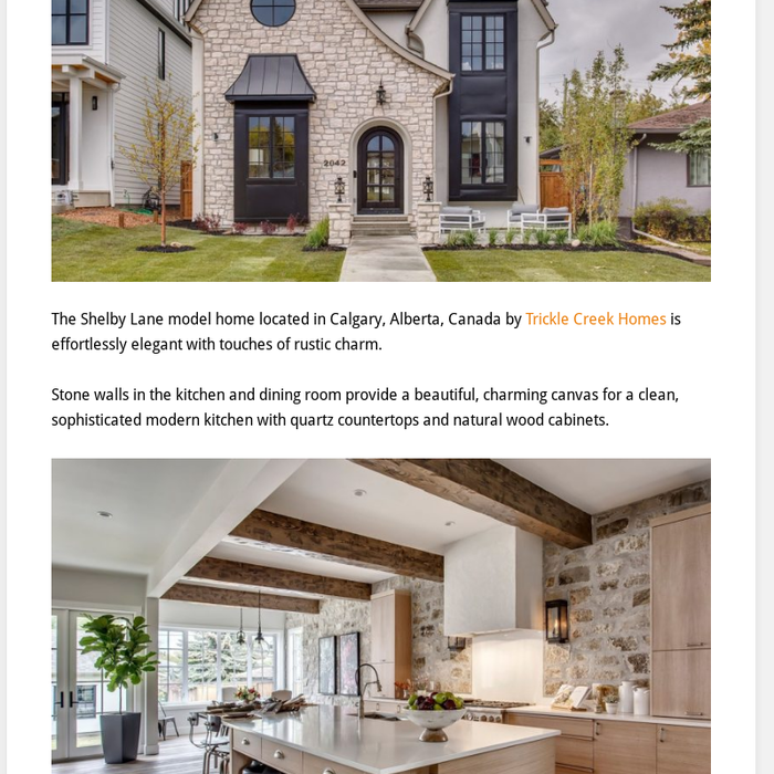 Mix · Timeless Casual Elegant Dream Home with Rustic