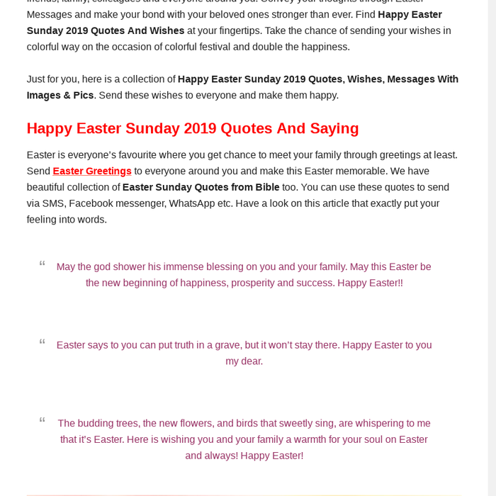 Mix · Happy Easter 2019 Quotes, Wishes, Images, Messages