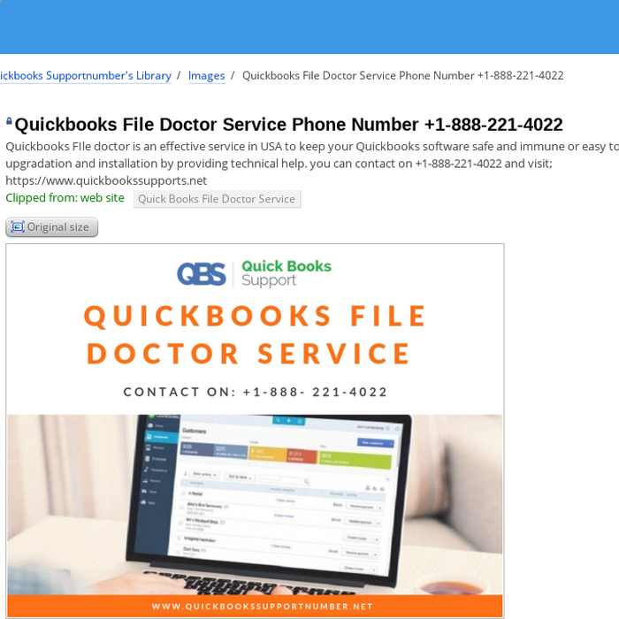 mix quickbooks file doctor service phone number 1 888 221 4022