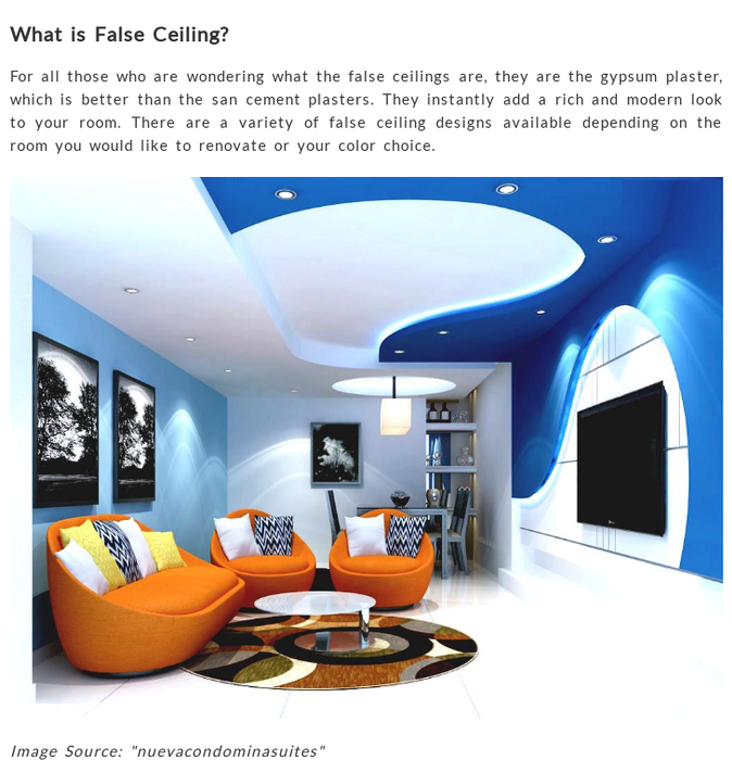 Kreatecube.comAdd The Elegance With False CeilingIf You Want To Add More  Elegance Feel In Your Home/office. You Can Take A Chance By Adding Various  Trending ...