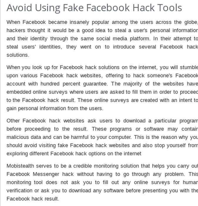 Mix · Understand How Mobistealth Facebook Messenger Hack