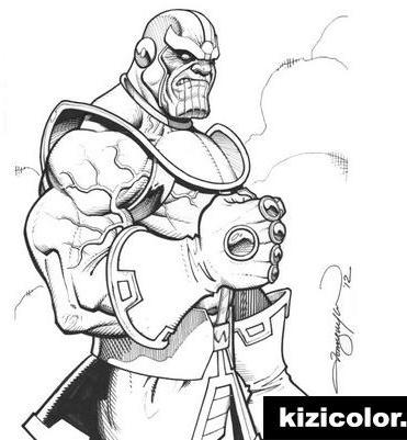 Mix Marvel Avengers Infinity War Thanos Fan Art