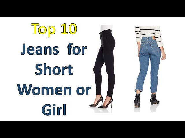 b4c7b0af0b7e3 youtube.comBest Jeans for Short Women or Girls