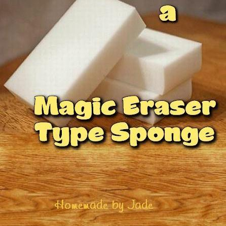 homemade-by-jade.comHow to Make A Magic Eraser Type SpongeMagic Erasers are so useful for cleaning the hard to clean things in our lives, ...