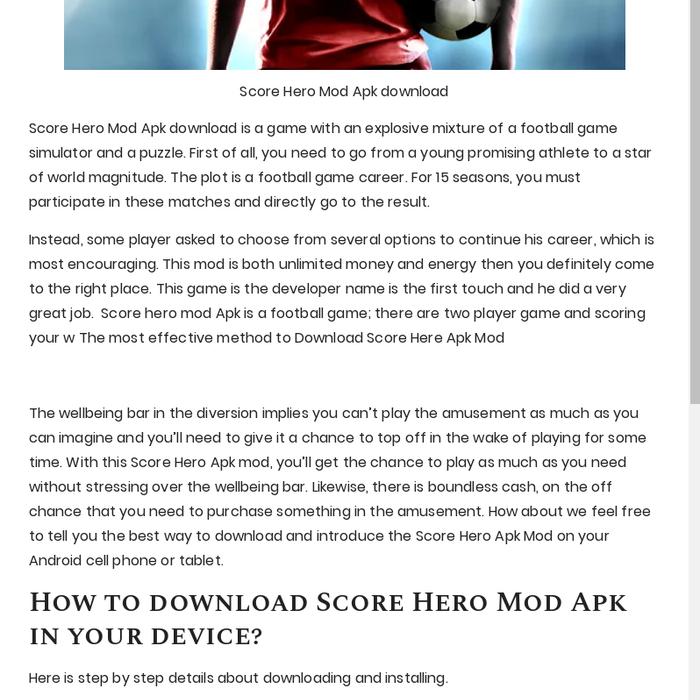 score match game hack apk download