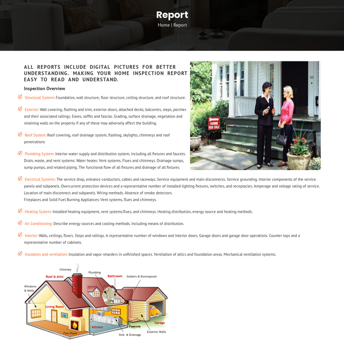 homeinspectionvolo · Home Inspection Structural Report Volo