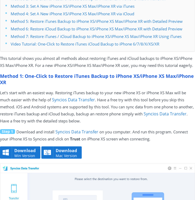 Mix · 7 Ways to Restore iTunes / iCloud Backup to iPhone XS