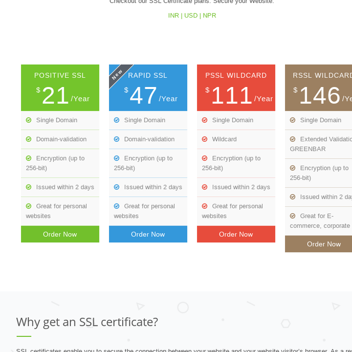 Mix Ssl Certificate Services Best Ssl Certificate Providers In India