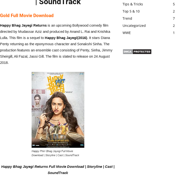 Mix · Happy Bhag Jayegi Returns Full Movie Download