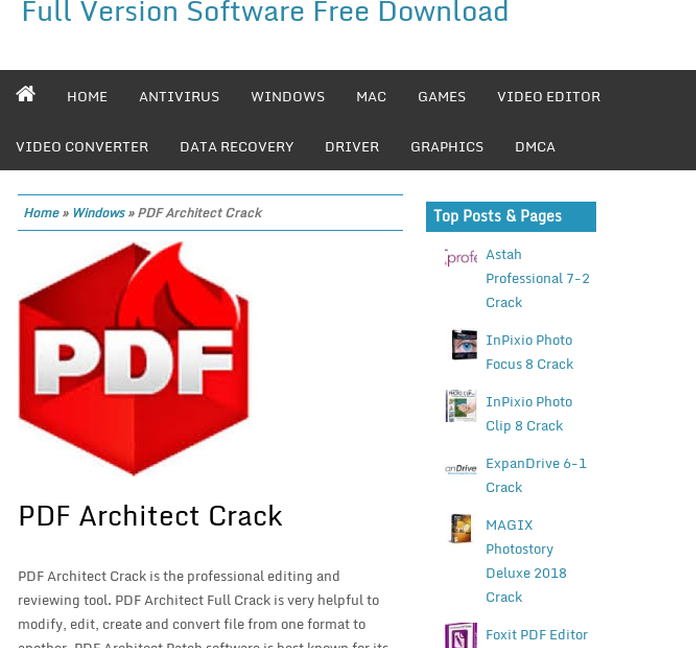 pdf architect 6 professional edition