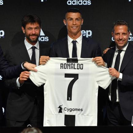 4a9e9032b Add. cbssports.comCristiano Ronaldo effect: Juventus reportedly sells $60  million worth of CR7 jerseys in 24 hoursFor ...