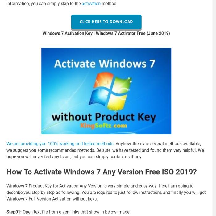 open 7 activator free download