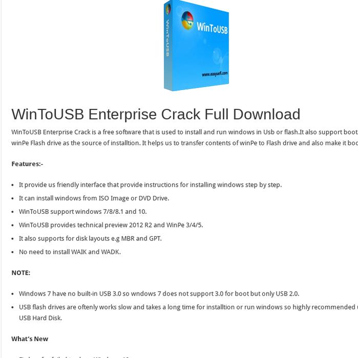 wintousb crack download