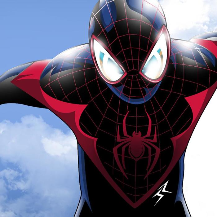 Mix Ultimate Spider Man Aka Miles Morales Wallpapers