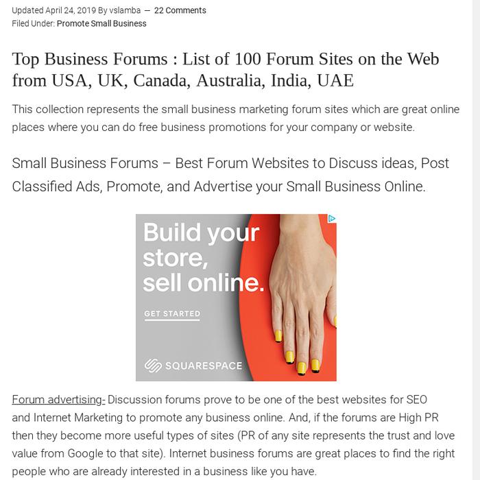 ads2020 · sales marketing · Posts