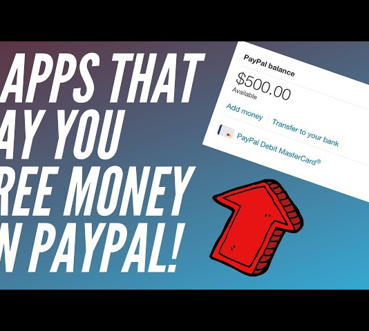 Mix · 3 Apps That Pay You Free Money On PayPal 2019 | (Make PayPal